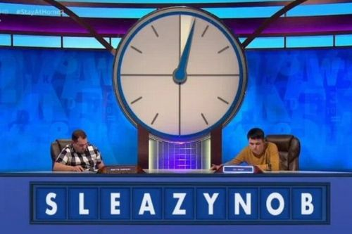 Countdown viewers in meltdown as contestants faced with very rude anagram
