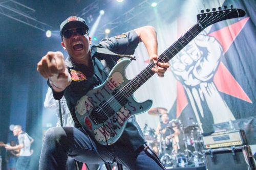 Rage Against The Machine say they have raised over £2m for charity with special tour tickets