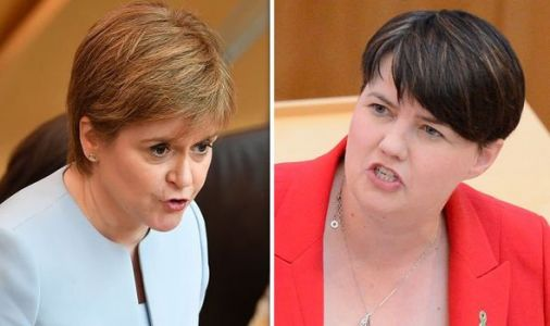 Theresa May resigns: Nicola Sturgeon's response ATTACKED by Ruth Davidson in Twitter spat