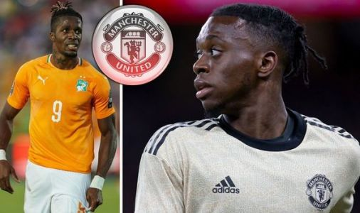 Man Utd star Aaron Wan-Bissaka reveals what Wilfried Zaha told him after transfer