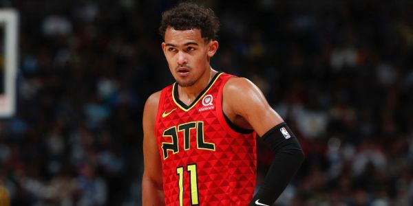 Trae Young nutmegged a defender and stared down the Nuggets bench in one of the most dominant performances of the NBA season