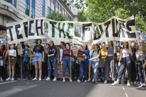 Tens of Thousands of Children Skipped School for Another Youth Climate Strike