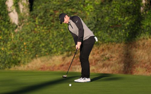Rory McIlroy on the charge at Genesis Open