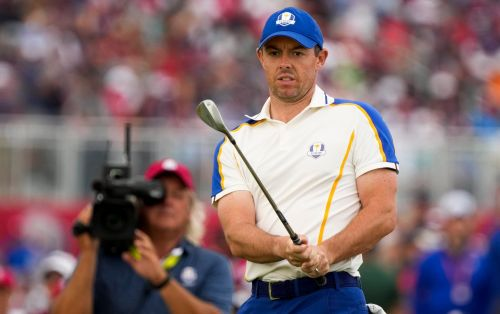 'I wish I could've done more for the team': Emotional Rory McIlroy in tears with Europe on verge of defeat
