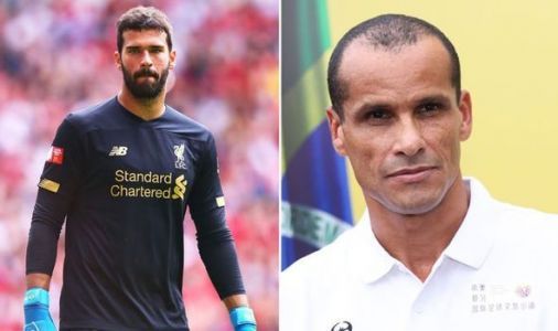 Rivaldo delivers verdict on Jurgen Klopp starting Liverpool star Alisson against Man Utd