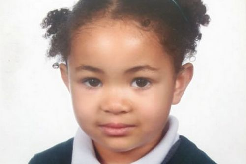 BREAKING First picture of girl, 5, found dead at home as mum charged with murder