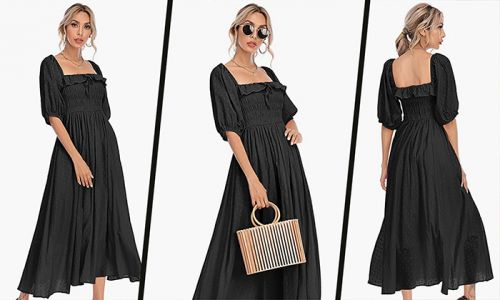 This £35 Amazon Fashion midi dress has so many positive reviews and it's finally back in stock