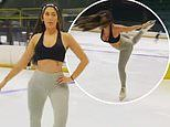 Chloe Ferry showcases her ice skating skills as she hits back at trolls who question her talent