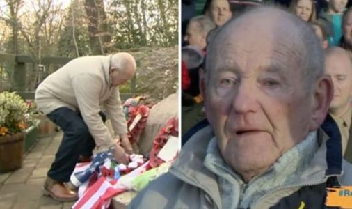 BBC News: 'I'm in bits' Viewers in tears over anniversary memorial for WW2 airmen