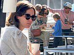 Rose Byrne suffers relatable parenting moment during a day out in Sydney with Bobby Cannavale