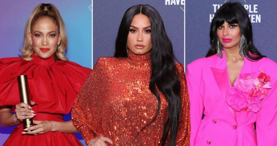Jennifer Lopez, Demi Lovato and Jameela Jamil shine bright at People's Choice Awards