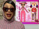Cardi B announces release of her own doll so daughterKulture, 2, has a toy that looks like her