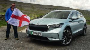 Skoda Enyaq road trip: four nations on one charge