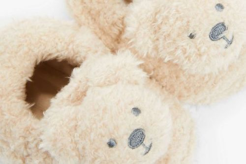 Princess Eugenie makes baby announcement with pair of £8 bear slippers