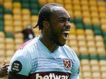 Norwich 0-4 West Ham: Michail Antonio hits all four as David Moyes' men ease to crucial win
