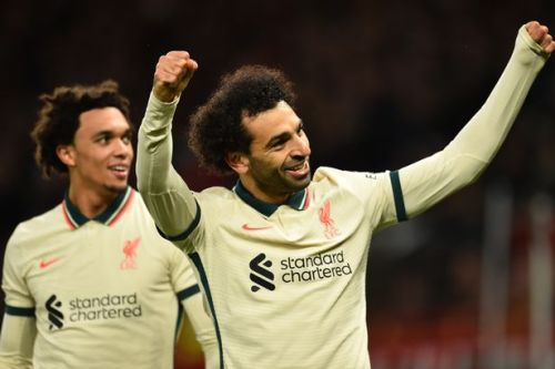 Mohamed Salah breaks another Premier League record during Liverpool's Man Utd rout