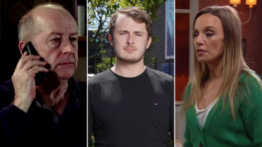 10 soap spoilers this week: Coronation Street Geoff's Yasmeen terror, EastEnders secrets revealed, Emmerdale blackmail, Hollyoaks past trauma