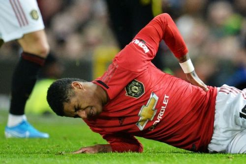 Marcus Rashford misses Man Utd's crunch clash at Liverpool due to injury