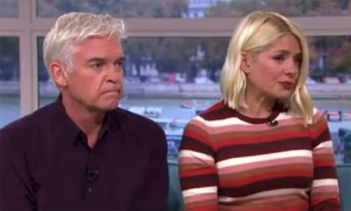 Tearful Holly Willoughby overcome with emotion as she interviews domestic abuse victim