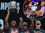 NBA Finals Heat up! Miami book fairy-tale reunion with LeBron James and the LA Lakers