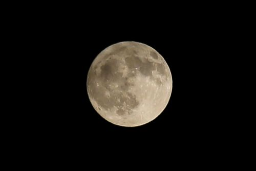 Tonight's beautiful 'Cold Moon' will be the last full moon of the decade