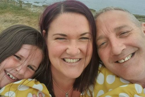 Scots mum given shock cancer diagnosis after going to hospital for throat infections