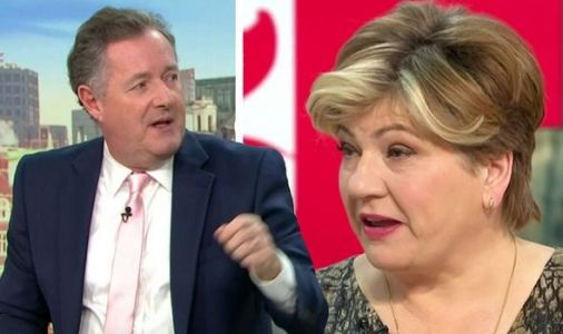 'You're a millionaire!' Piers Morgan shuts down Emily Thornberry over Labour tax row