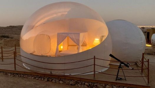 This Bubble Hotel In Al Ain Looks Incredibly Cool