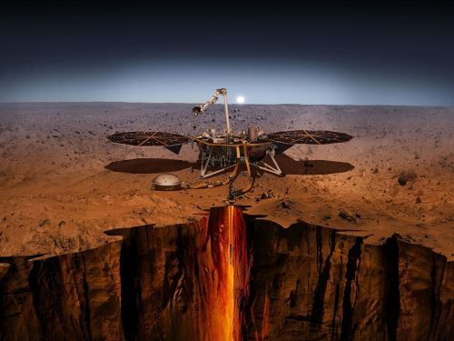 NASA's Insight lander is revealing Mars to be far more shaky than we thought. It picked up about 450 quakes and 10,000 ground-bending whirlwinds