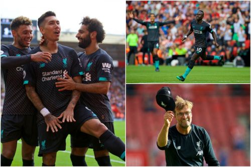 The best photos as Liverpool secure hard-fought victory at Southampton