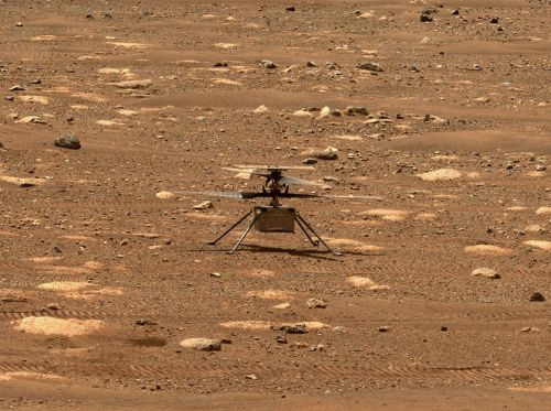 Mars helicopter needs a software update before attempting first flight