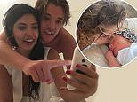 Cara De La Hoyde reveals Nathan Massey nearly missed the birth of their daughter Delilah