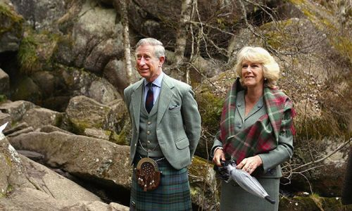 Inside Prince Charles and the Duchess of Cornwall's Scottish residence, Birkhall