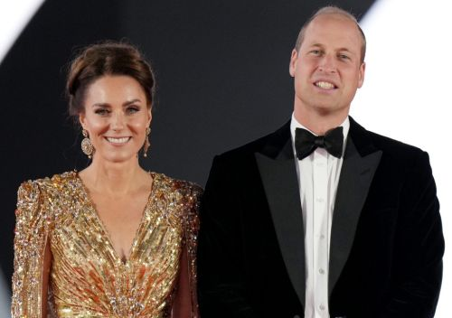 Casino royal! Kate and Prince William bring royal glamour to No Time To Die premiere as Daniel Craig walks red carpet for last outing as 007