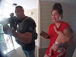 US Marshalls hold woman holding baby at gunpoint after going to the wrong apartment