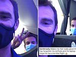 Murray brothers jet off to New York for the US Open as Jamie uploads clip from plane