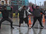 New Zealand protesters perform traditional dance as BLM demonstrations continue around the world