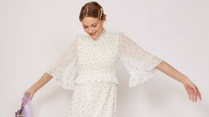 This cult brand is launching affordable wedding dresses