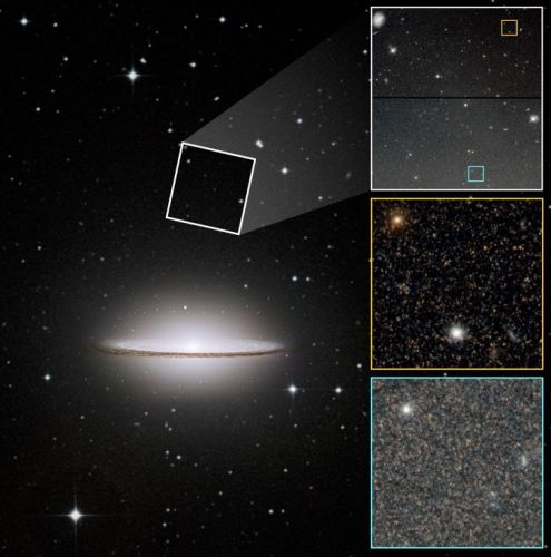Hubble sheds light on the Sombrero galaxy's surprising past
