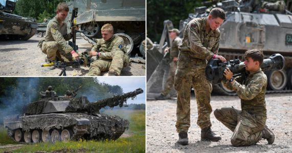 Army 'to be slashed by 20,000 troops to make way for cyber warfare'