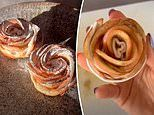 Foodie wows thousands online with her simple recipe for 'apple roses'