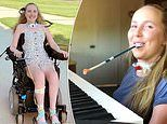 Paralyzed woman accepted to University's music program as she learned to play piano with her mouth