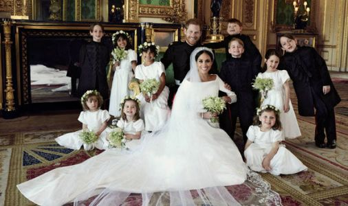 Royal Wedding first official pictures: Adorable bridesmaids and pageboys steal the show