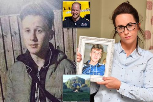 Prince William praised by mum of tragic teen whose life he tried to save