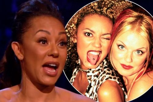 Moment Mel B confesses to Geri Horner lesbian sex - and Mel C is horrified