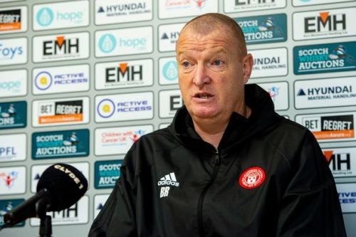 Hamilton Accies head coach opens up about gambling addiction as he faces SFA charge