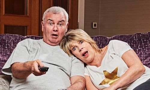 Ruth Langsford and Eamonn Holmes transform their living room for Celebrity Gogglebox