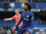 Willian admits Chelsea career is coming to an end after revealing 'renewal is difficult'