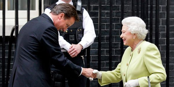 Royal 'displeasure' after David Cameron reveals he asked the Queen to speak out against Scottish independence