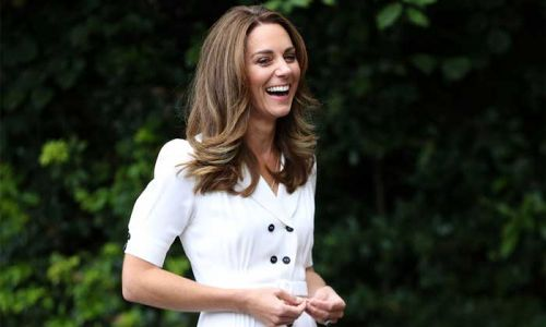 Kate Middleton stuns in two dresses in newly released photos